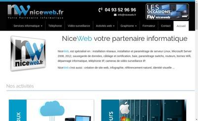 Site internet de Niceweb - Fb Media - Creamanta