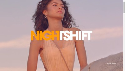 Site internet de Nightshift
