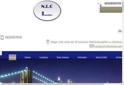 Site internet de Neauphle le Chateau Immobilier