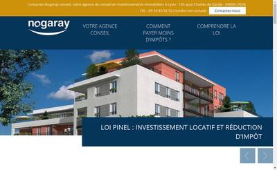 Site internet de Nogaray Conseil