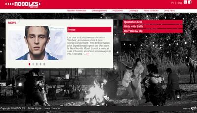 Site internet de Noodles Production