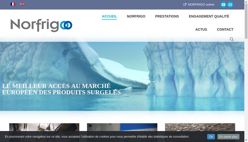 Capture d'écran du site de Cerragel