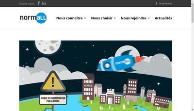 Site internet de Normall