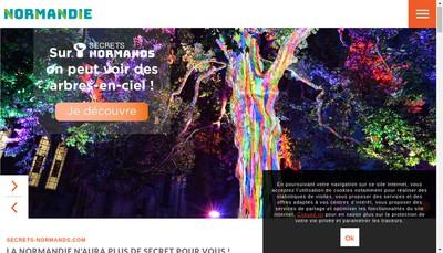 Site internet de Bon Sejour la Plage