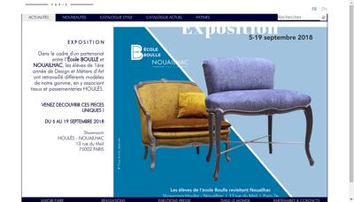 Capture d'écran du site de Granastyle