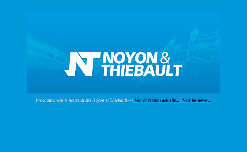Site internet de Noyon et Thiebault