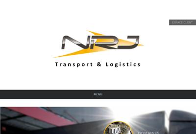 Capture d'écran du site de SARL NRJ