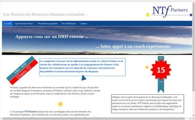 Site internet de Ntf Partners