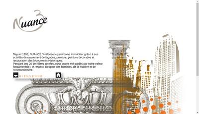 Site internet de Nuance 3