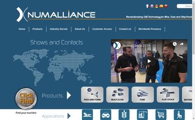 Site internet de Numalliance