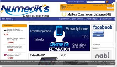 Site internet de Numerik'S - Numerik'S Access - Numerik'S Pro