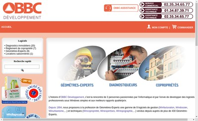 Site internet de Obbc Developpement