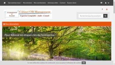 Site internet de Ob Management