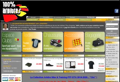Capture d'écran du site de OBP Avocats