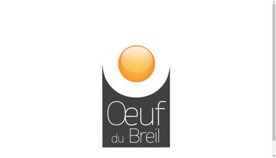 Capture d'écran du site de L'Oeuf du Breil