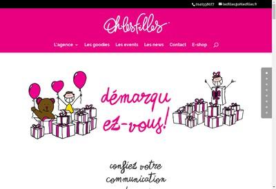Site internet de Oh les Filles ! !
