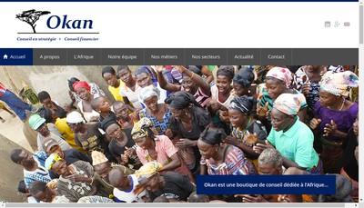 Site internet de Okan Consulting