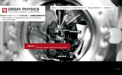 Site internet de Orsay Physics
