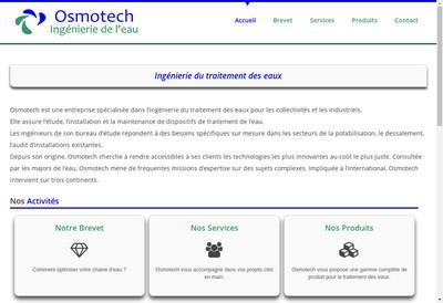 Site internet de Osmotech