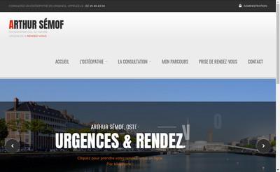 Site internet de Arthur Semof
