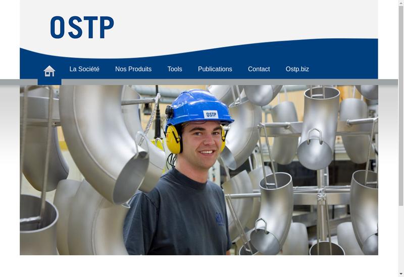 Capture d'écran du site de Ostp France