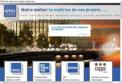 Site internet de Organisation et Technique de Constructions Immobilieres