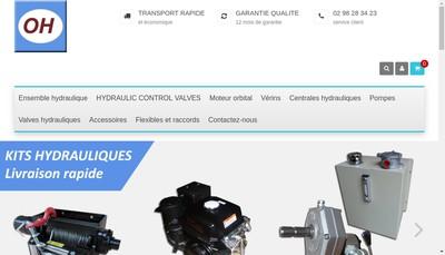 Site internet de Ouest Hydraulique