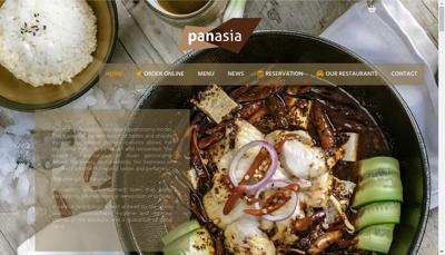 Capture d'écran du site de Panasia Ii