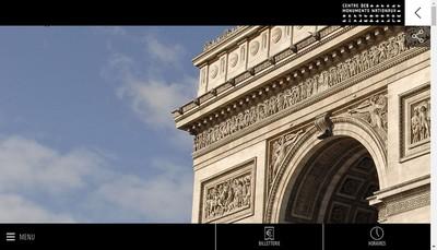 Site internet de Comptoir de l'Arc