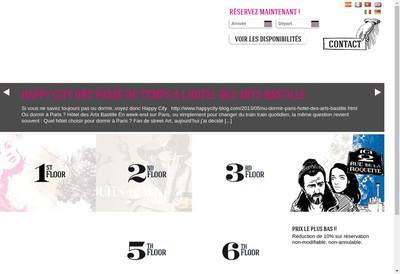 Site internet de Hotel des Arts Cavaignac