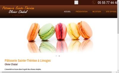Site internet de Patisserie Sainte Therese