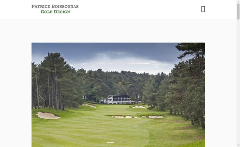 Capture d'écran du site de Patrice Boissonnas