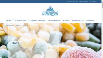 Site internet de Patrigel