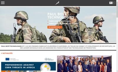 Site internet de Paul Boye Technologies