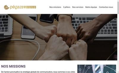 Site internet de Pegaze Visions