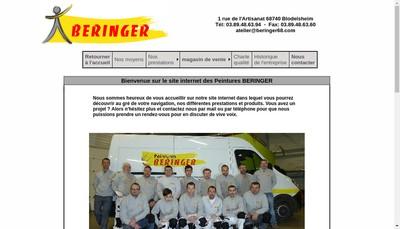 Site internet de Beringer