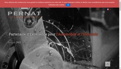 Site internet de Pernat Industrie SA