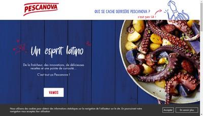 Site internet de Pescanova France SA