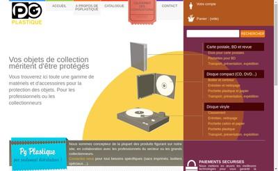 Site internet de Pg Plastique