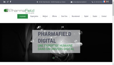 Site internet de Pharminov