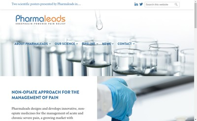 Site internet de Pharmaleads