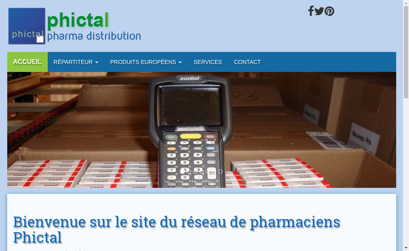 Site internet de Phictal