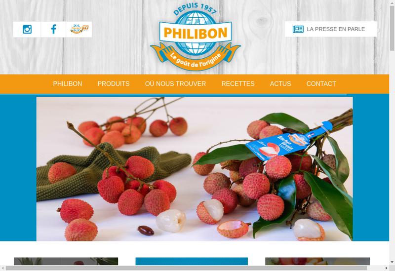 Capture d'écran du site de SARL Bm Production