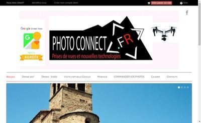 Site internet de Photoconnect Fr