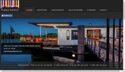 Site internet de Le Piano Barge