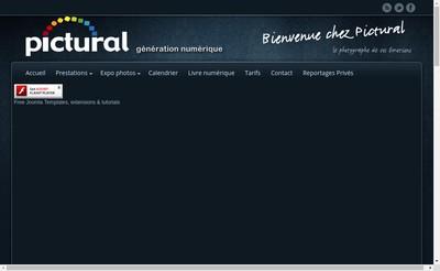 Site internet de Pictural