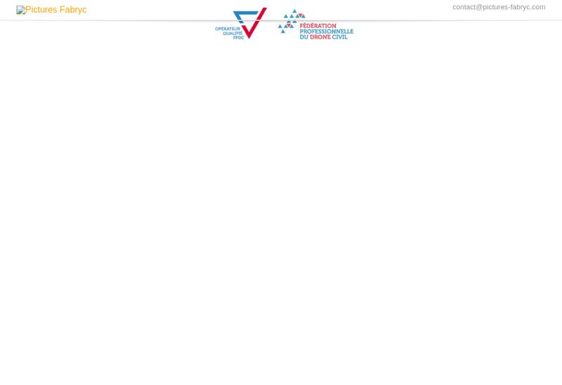 Capture d'écran du site de Pictures Fabryc