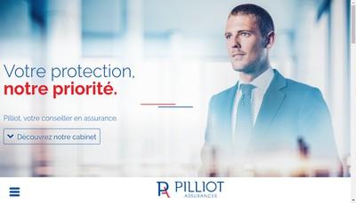 Site internet de Assurances Pilliot