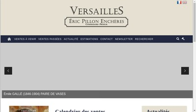 Site internet de Eric Pillon Encheres-Pve