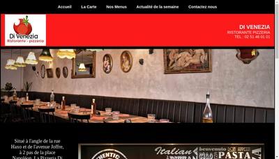 Site internet de Di Venezia